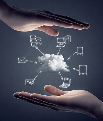 A secure cloud with key